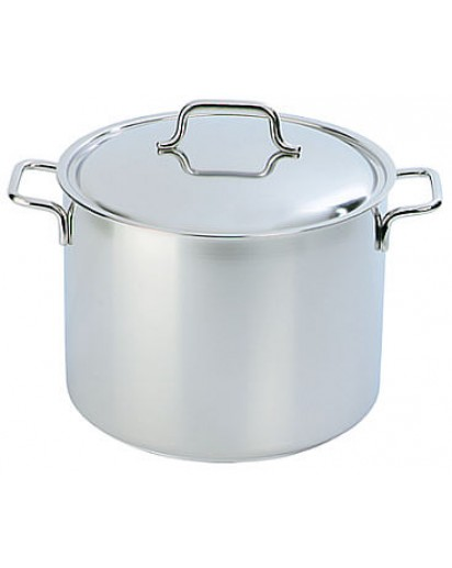 Demeyere: Deep stockpot Apollo with lid 24 cm