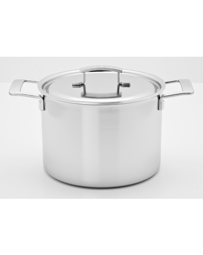 Demeyere: Deep stockpot Industry with lid 24cm
