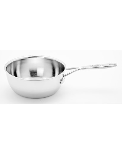 Demeyere: Conical sauteuse Industry without lid 18cm
