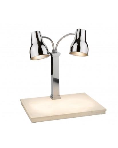 Spring: Carving Station mit Unterhitze und zwei Lampen
