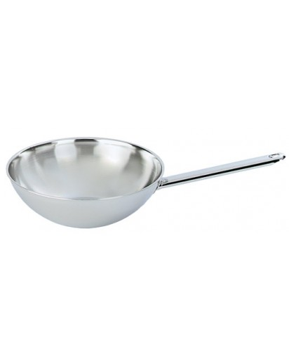 Demeyere: Wok with flat base 26 cm