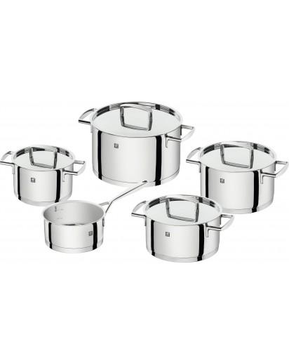 Zwilling: Passion Cookware Set, 5pcs., high-gloss