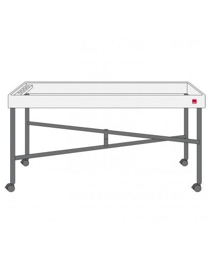 Spring: Concept Table exkl. Kompaktplatte anthrazit, Modul 1/1