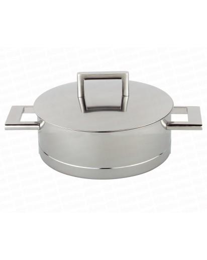 Demeyere: Low stew pot with lid John Pawson 28 cm