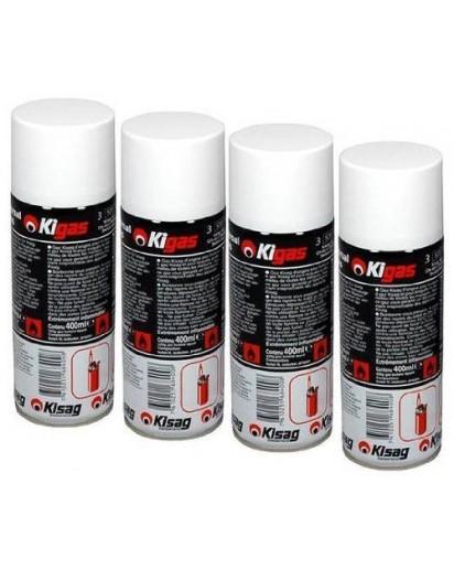 Kisag: 4x Kigas Refill Can 400ml