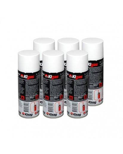 Kisag: 6x Kigas Refill Can 400 ml