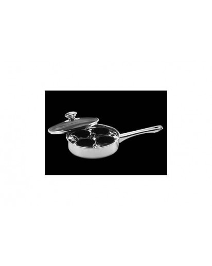Demeyere: Gourmet pan 22 cm with 4 inserts