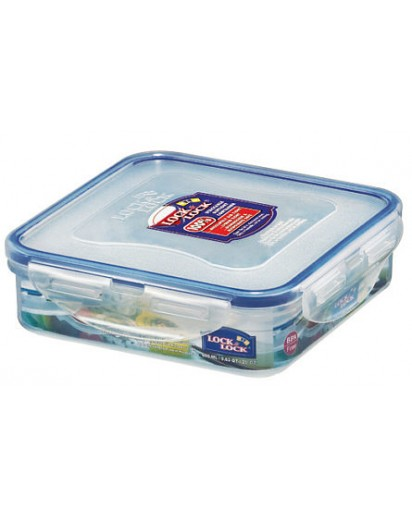Lock & Lock: Container Square 600 ml (HPL822)