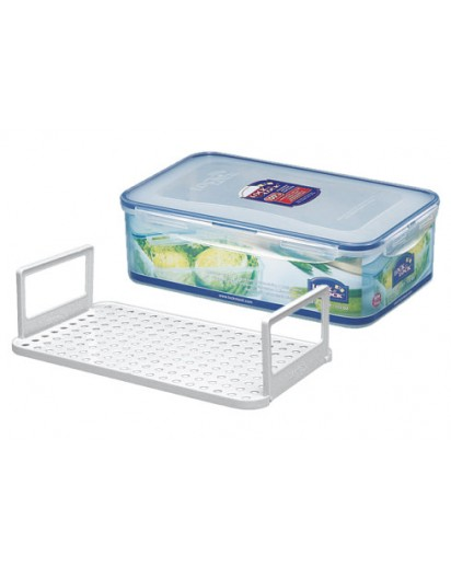 Lock & Lock: Container Rectangular with Serving Inset 3.6 l (HPL833)