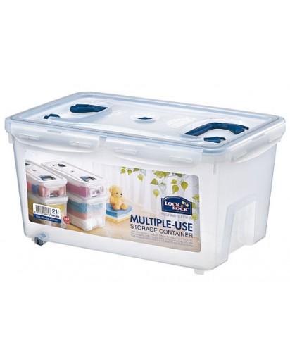Lock & Lock: Multiple-Use Storage Container 21 l (HPL896)