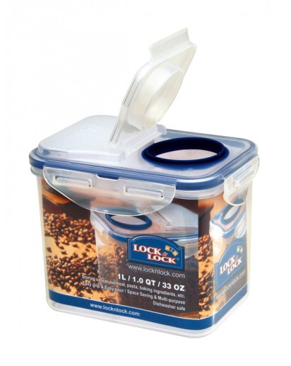 Lock & Lock: Container with Flip-Top Lid 1.0 l (HPL812F)