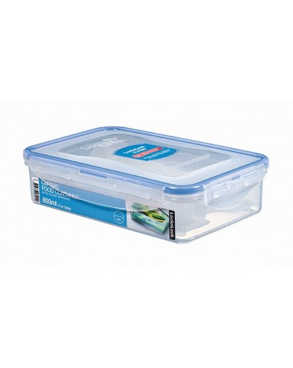 LocknLock: Rectangular Container with Drain Grate 800 ml (HPL816T)