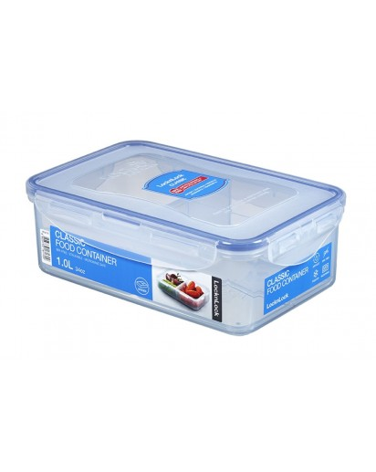 LocknLock: Container Rectangular with Drain Grate 1.0 l (HPL817T)