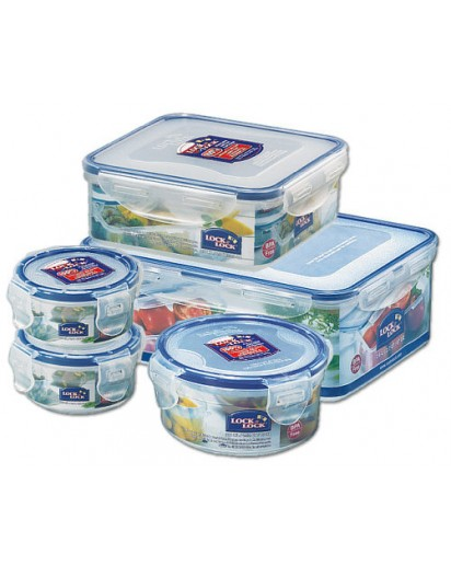 Lock & Lock: 5-Piece Set Containers 3.97 l (HPL826O5)