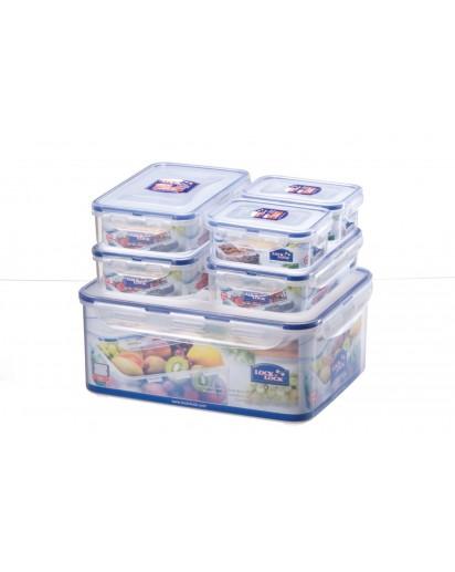 LocknLock: 6-Piece Container Set (HPL836SB)