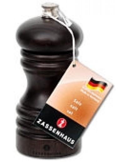 Zassenhaus: Salzmühle 'Berlin' Buche dunkel gebeizt, 12cm