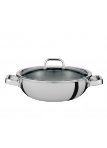 Spring: Finesse Gourmet Wok with 2 Handles, 30 cm