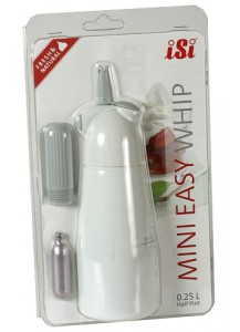 iSi: Easy Whip Mini White Box + Extras
