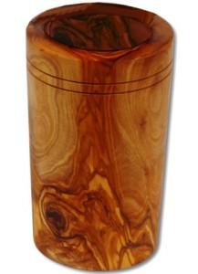 Köcher konisch Olivenholz ca. 9 x15 cm