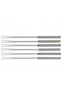 Spring: Meat Fondue Forks Fun, 6 pcs