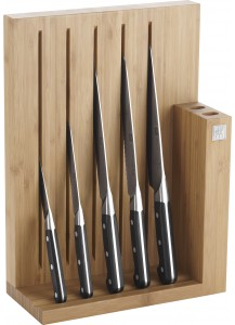 Zwilling: Pro Knife block, bamboo, 6 pcs.