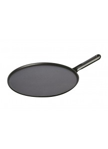 Staub: Pancake pan with cast iron handle, 30 cm, spreader and spatula