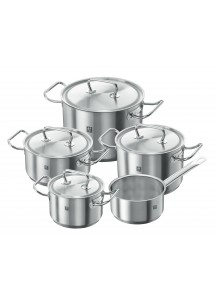 Zwilling: Twin® Classic Cookware set, 5 pcs. Stainless Steel