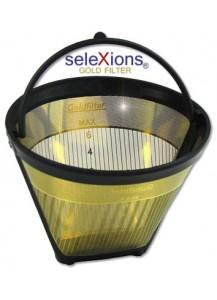 Selexions: Scala Kaffeefilter Gold (Filter Nr. 2) mit Titanhartschicht