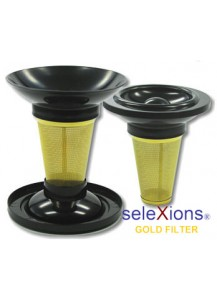 Selexions: Gold Tea-Cup-Filter