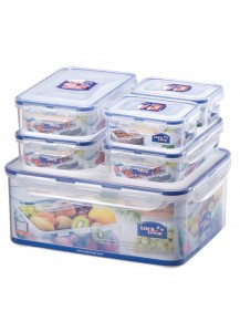 Lock & Lock: 6-Piece Container Set (HPL836SB)