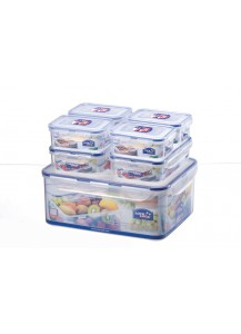 Lock & Lock: 7-Piece Container Set (HPL836SC)