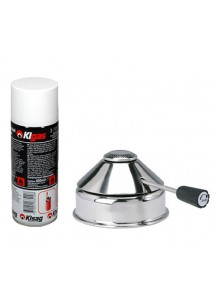 Kisag: Gastro Sicherheitsgasbrenner inox plus Gas (optional)