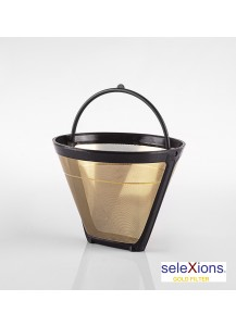 Selexions: GF4 Gold Kaffee-Dauerfilter (Filter Nr. 4)
