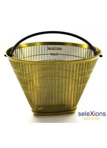 Selexions: Kaffeefilter Gold (Filter Nr. 4) aus Ganzmetall
