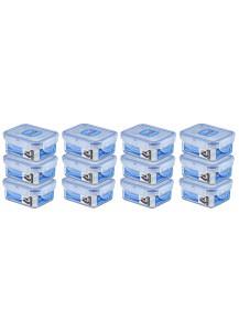 LocknLock: 12 x Container Rectangular 180 ml (HPL805/12)