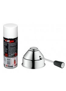 Kisag: Sicherheitsgasbrenner special Design plus Kigas Gas (optional)