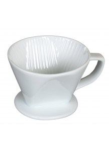 Selexions: Porcelain Coffee Filter Holder No. 4