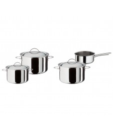 Spring: Cristal Starter Set 4-pcs with Lids and Sauté Pan