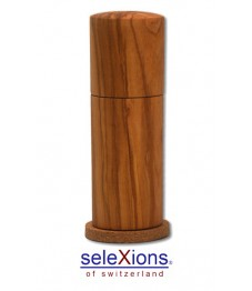 Selexions: Salzmühle Olivenholz mit Keramikmahlwerk