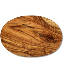 Cutting Board Oval Olive Wood