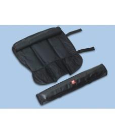 Zwilling: Rolltasche, 7 Fächer, schwarz