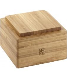Zwilling: Küchenutensilienhalter 60mm Container Bambus