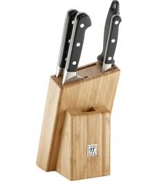 Zwilling: Knive block Pro 5 pc. bamboo