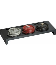 Staub: Stand for 3 Mini Cocottes, black