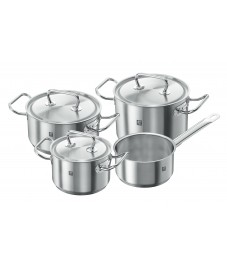 Zwilling: Twin® Classic Cookware set, 4 pcs., Srainless Steel