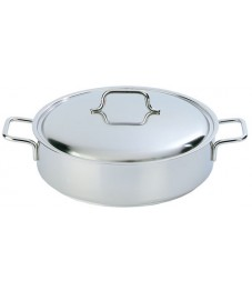 Demeyere: Low casserole / saucepot Apollo 28 cm with lid