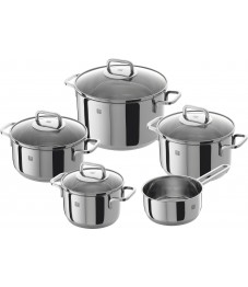 Zwilling: ® Quadro Cookware Set 5 pcs., Stainless Steel