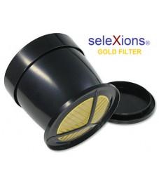 Selexions: Eintassen-Kaffeefilter 23 Karat Gold