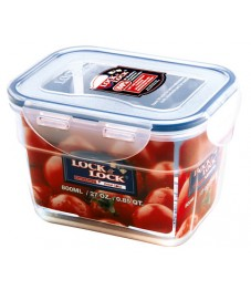 Lock & Lock: Container Rectangular Nestable 800 ml (HPL312)