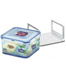 Lock & Lock: Container Square with Serving Inset 1.2 l (HPL822T)